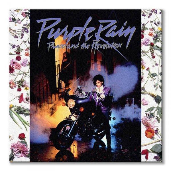 Prince Purple Rain - obraz na płótnie