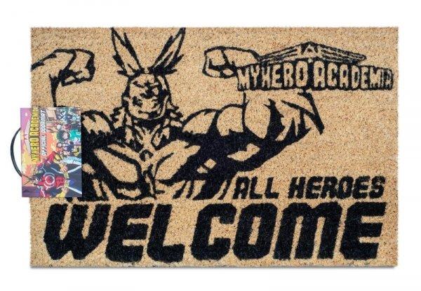 My Hero Academia All Heroes Welcome - wycieraczka