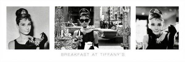 Audrey Hepburn (Breakfast At Tiffany's) - plakat