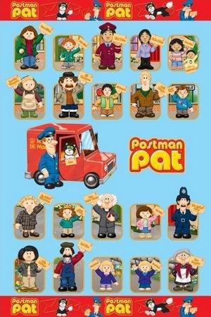 Listonosz Pat (characters) - plakat