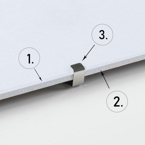 Antyrama z plexi 158x53 cm