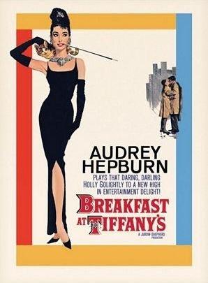 Audrey Hepburn (Breakfast At Tiffany's One-sheet) - reprodukcja