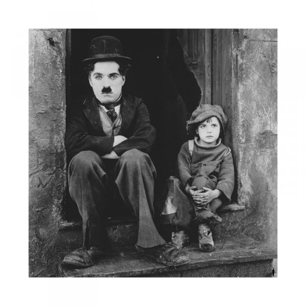 Charlie Chaplin (The Kid) - reprodukcja