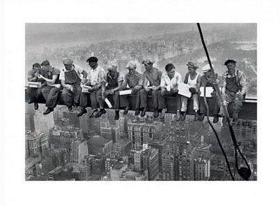 Lunch On A Skyscraper - reprodukcja