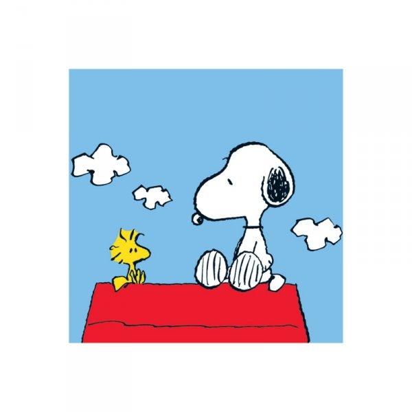 Peanuts (Snoopy & Woodstock) - reprodukcja