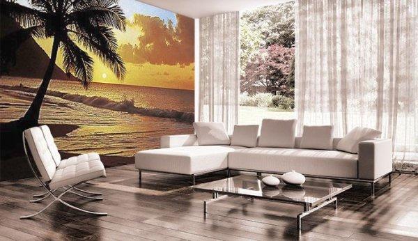 Fototapeta na ścianę - Pacyfik (Zachód Słońca) - 366x254 cm