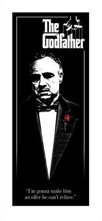 The Godfather (Red Rose) - reprodukcja