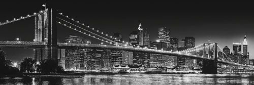 New York (Brooklyn Bridge) - plakat