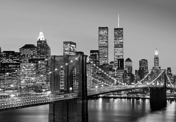 Fototapeta New York (Brooklyn Bridge) - 366x254cm