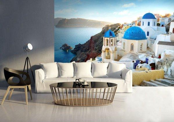 Fototapeta na ścianę - Santorini, Oia - 254x183 cm