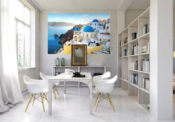 Fototapeta na ścianę - Santorini, Oia -  175x115 cm