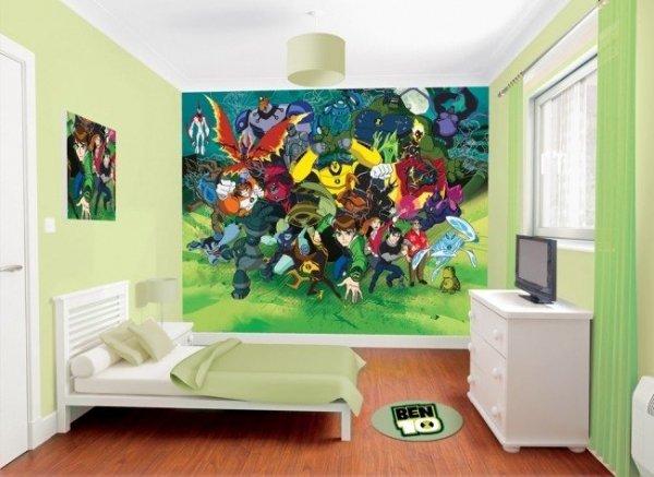 Fototapeta dla dzieci - Ben 10 - 3D - Walltastic