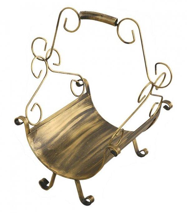 Kosz na drewno - Metaloplastyka - Sklep