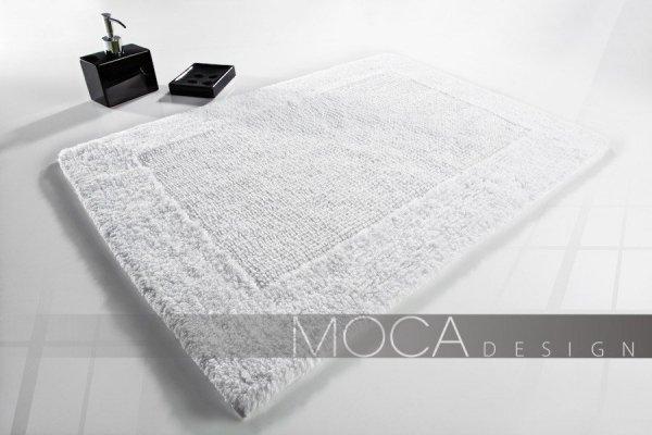 Dywanik łazienkowy - Biały - 50x75cm