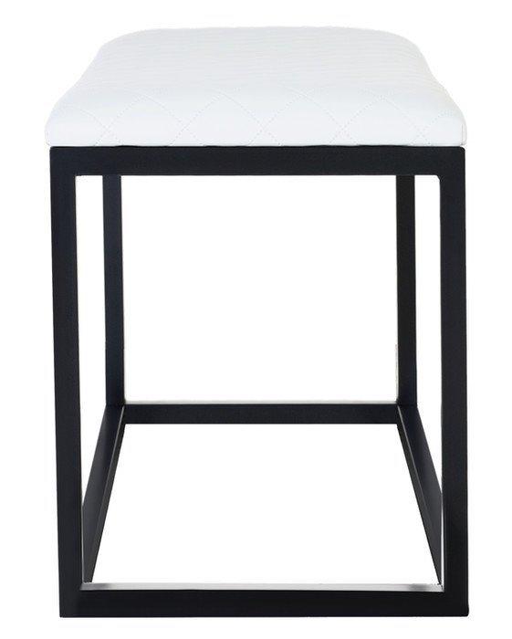 Ławka metalowa - Siedzisko do przedpokoju - 107cm