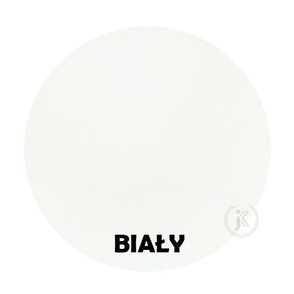 Biały - Kolor Kwietnika - Wąsy - Tuba na kwiaty - stojak - DecoArt24.pl