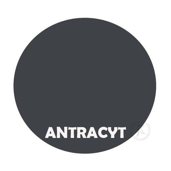 Antracyt - kolorystyka metalu - Kwietnik metalowy - Sklep Online