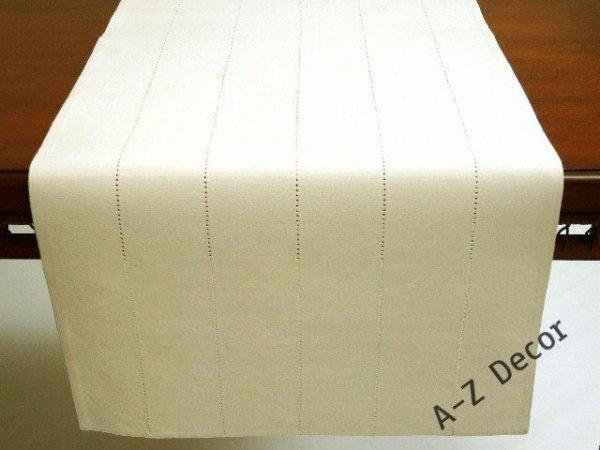 Bieżnik na stół - Biały - 50x140cm