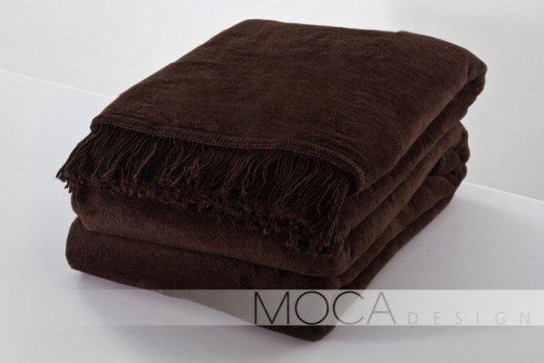 Koc - 150x200 cm - Kolor brązowy
