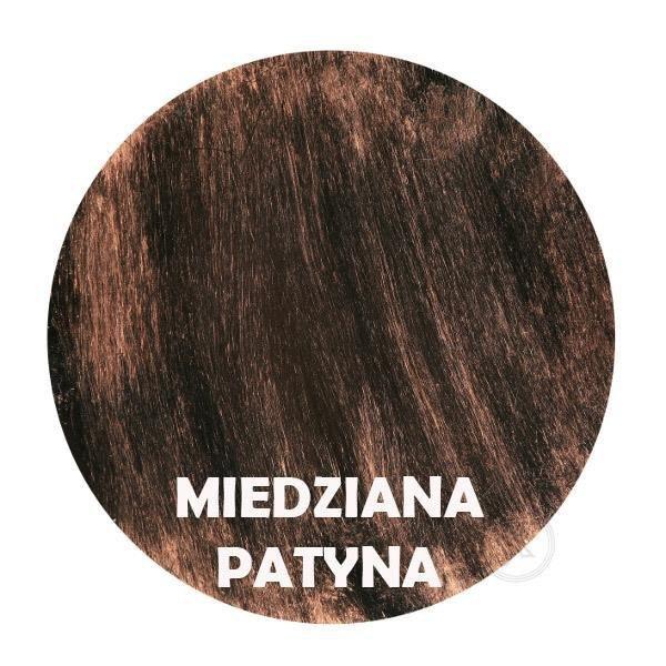 Miedziana patyna - Kolor kwietnika - Kolumna 1-ka - DecoArt24.pl