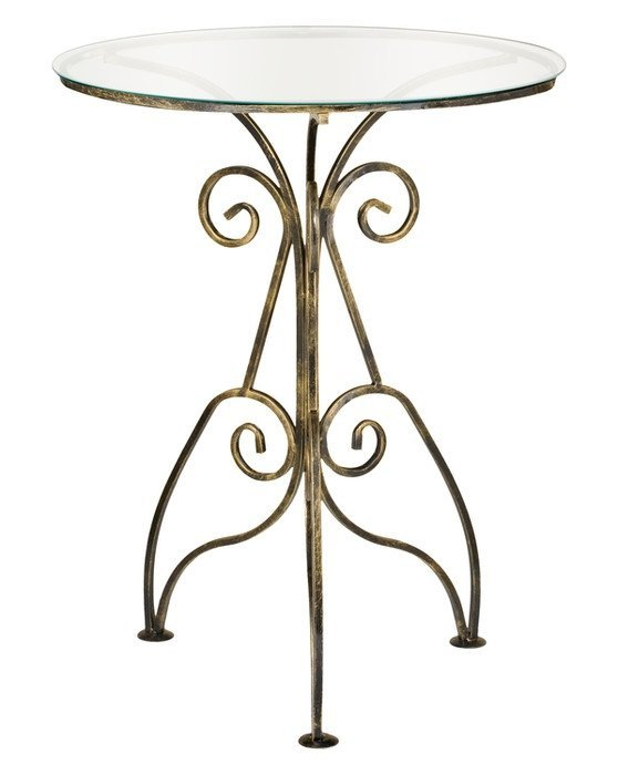 Stolik szklany - Okrągły - Sklep