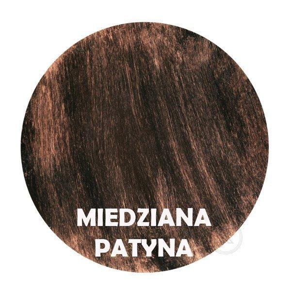 miedziana patyna - Kolorystyka metalu - Kwietnik ścienny - Sklep DecoArt24.pl