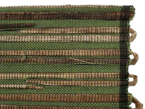 Podkładka na stół - Zielono brązowa - Z abaki -33x48cm