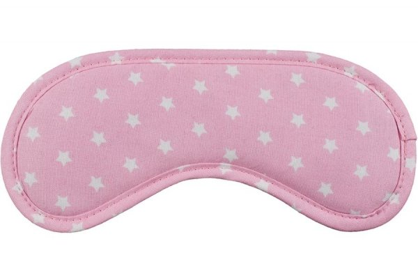 Opaska na Oczy - Daydream - wzór Stars Pink