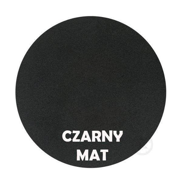 czarny mat - Kolorystyka metalu - kwietnik metalowy - Sklep