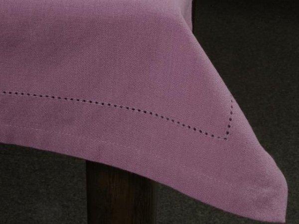 Obrus na stół - Fiolet - 90x90cm - 100% Bawełna