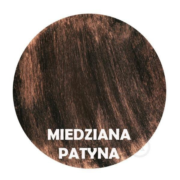 Miedziana patyna - Kolor kwietnika - 3-ka Zdobiona DecoArt24.pl