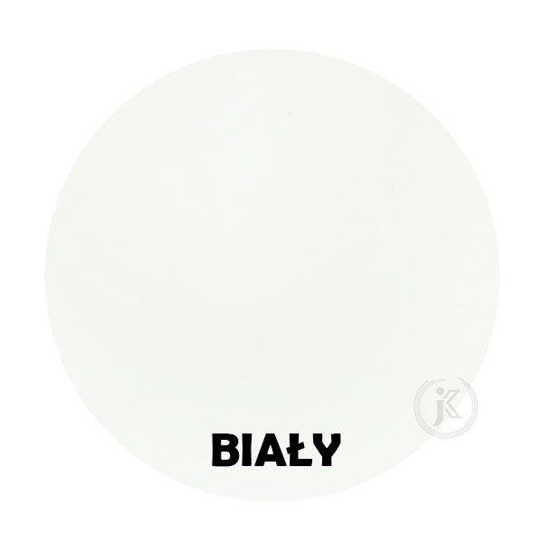 Biały - kolorystyka metalu - Kwietnik kuty kolumna - Sklep Internetowy