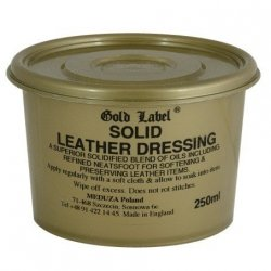 GOLD LABEL SOLID LEATHER Dressing do wyrobów skórzanych