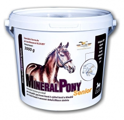 ORLING MineralPony SENIOR skoncentrowany środek mineralno-kolagenowy poprawiający kondycję kości u koni sportowych