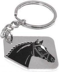 Breloczek HR z głową konia metalowy