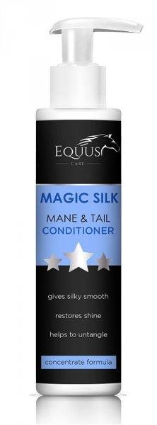 EQUUS CARE MAGIC SILK Odżywka do grzywy i ogona dla konia z jedwabiem z efektem wow 24H