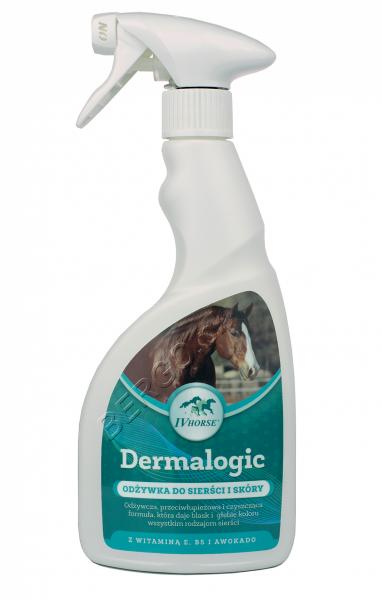 IV HORSE DERMALOGIC Odżywka do sierści i skóry 500ml 24H