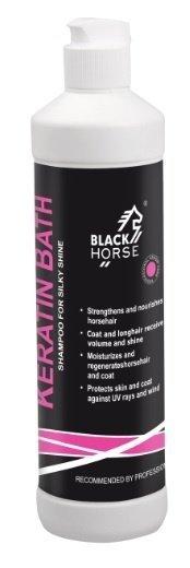 BLACK HORSE KERATIN BATH Szampon nabłyszczająco-wzmacniający dla koni 500ml 24H