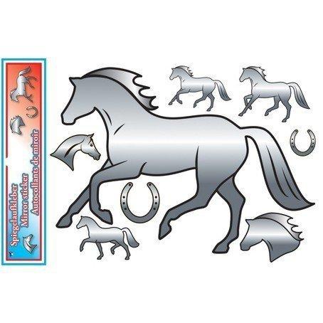 Naklejki lustrzane HR z końmi