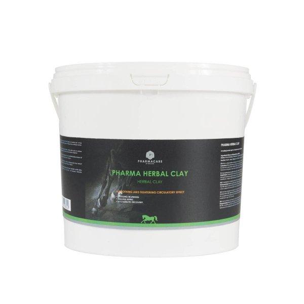PHARMA HERBAL CLAY Glinka ziołowa chłodząco-rozgrzewająca na napięte mięśnie i zmęczone nogi 4kg 24H