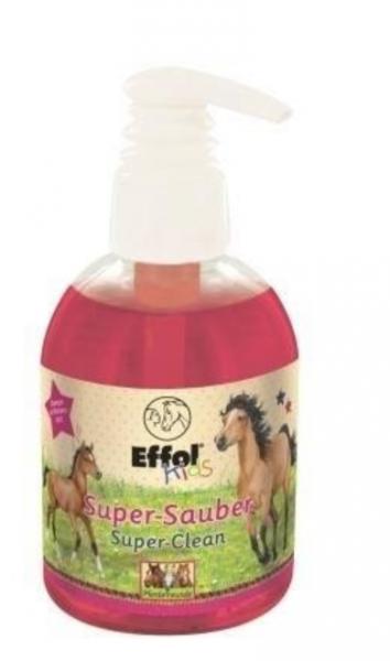 EFFOL KIDS SUPER-CLEAN Pielęgnacyjny szampon do grzywy i ogona malinowy 24H
