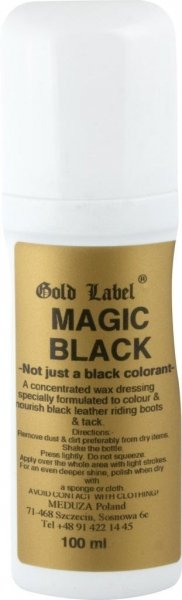 GOLD LABEL MAGIC BLACK Pasta barwiąca