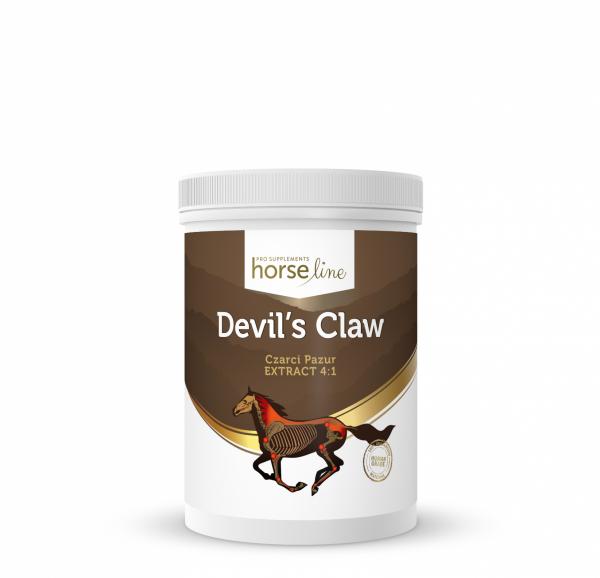 HorseLinePRO Devil`s Claw Czarci Pazur Preparat przeciwzapalny i przeciwbólowy na ścięgna i stawy konia 700g 24H