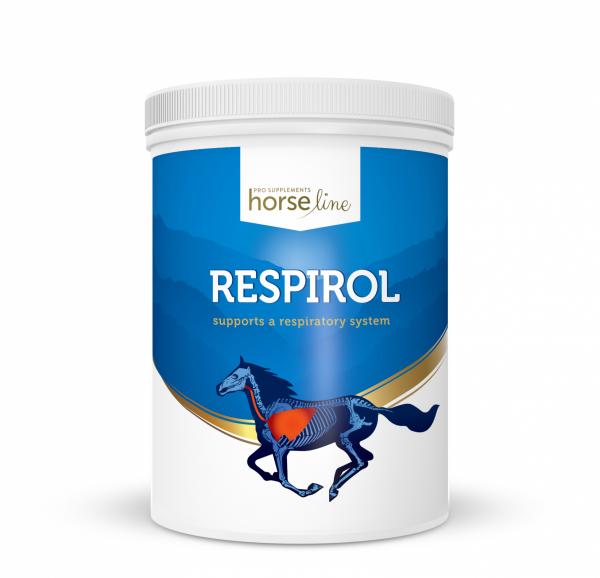 HorseLinePRO Respirol Preparat wspomagający układ oddechowy 1200g 24H