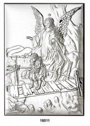 Obrazek Ikona Anioł Stróż GRAWER Roczek Chrzest