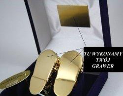 Buciki Swarovski Niebieskie Etui +GRAWER Chrzest