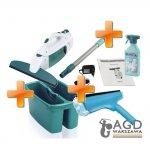 Zestaw myjka Leifheit: myjka + ściągaczka + drążek (przedłużka) + pojemnik + płyn Leifheit Window Vacuum (Symbol: 51114/52001/51127/41412)