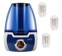 Nawilżacz powietrza Camry CR 7956   Jonizacja   4 filtry na wyposażeniu