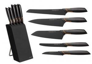 Noże w bloku Fiskars 1004931 Edge zestaw 5 noży