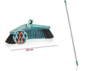 Szczotka Leifheit Xtra CleanCollect Plus uniwersalna 30 cm + drążek | 45003/45022 | system Click
